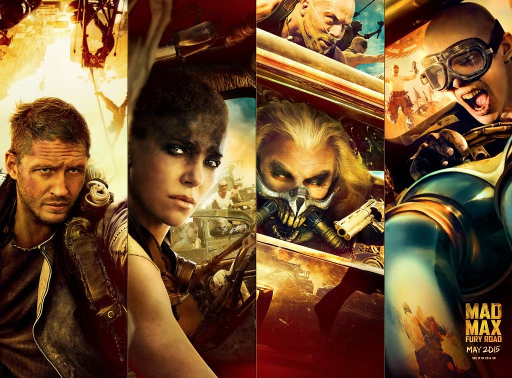 the poster posse embraces the full fury of mad max fury road mad max will you travel the fury road 307252